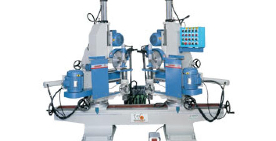 Máy cắt phay 2 đầu nghiêng độ GF-604SSA