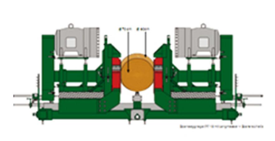 Dây chuyền xẻ gỗ tròn MCA-TD-17