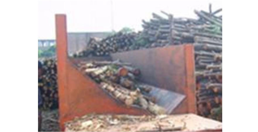 Máy bóc vỏ gỗ 1 trục